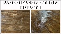How-To Written Instruction: Wood Floor Stamp
