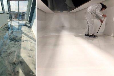 Concrete flooring contractors in New York