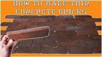 How To Written Instruction: Casting Thin Bricks