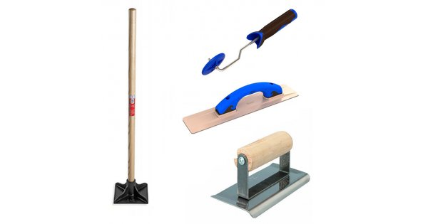 stamped concrete tools