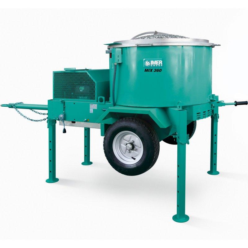 Mini Concrete Mixer Plant : Imer vertical shaft mixer mortarman mini batch plant