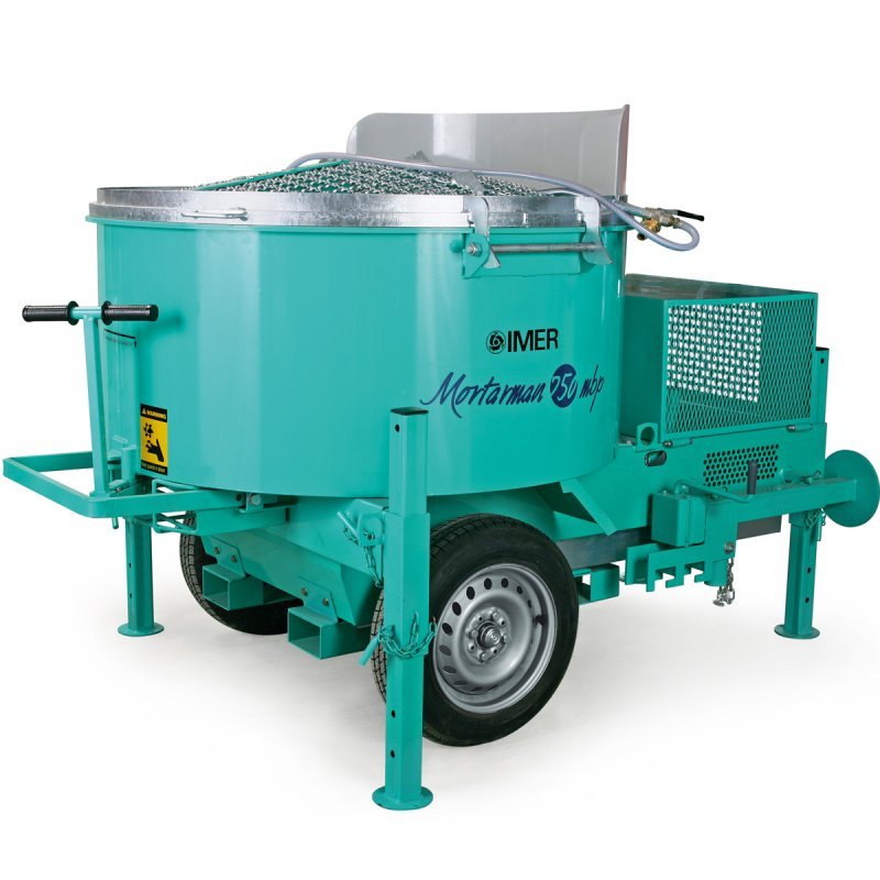 Imer Vertical Shaft Mixer - Mortarman 750 (Mini Batch Plant)