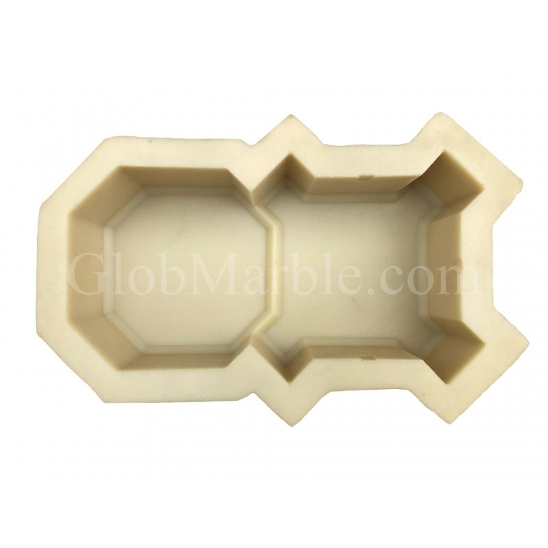 Paver Stone Mold PS 21104R. Rubber Mold