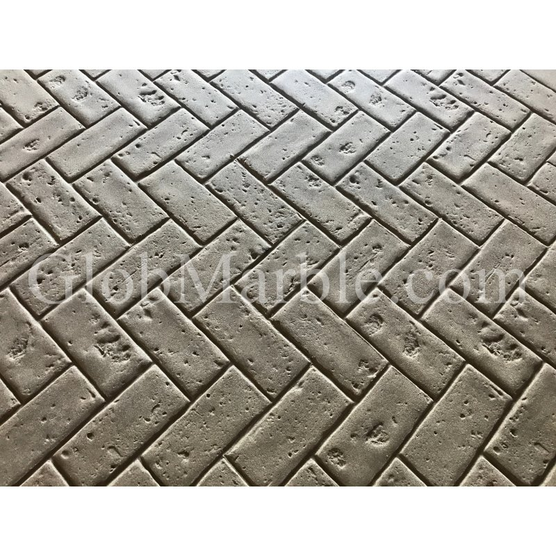 Concrete Stamp Mold SM 4100 Herringbone Brick Concrete Stamp