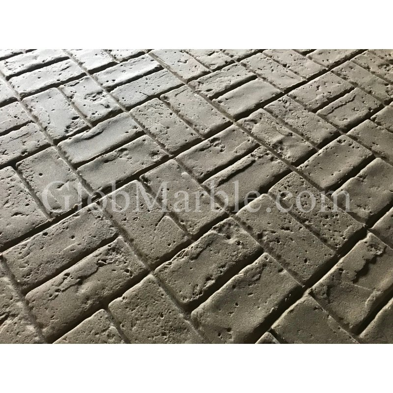 Brick Stamped Concrete Brick Patterns Textures Globmarble