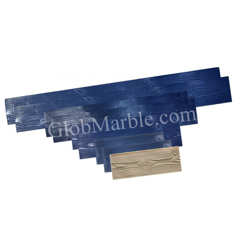 Wood Texture Stamp Mat SM 5000 S 5 Pieces Woodgrain GlobMarble Wood Plank Concrete Stamp Set