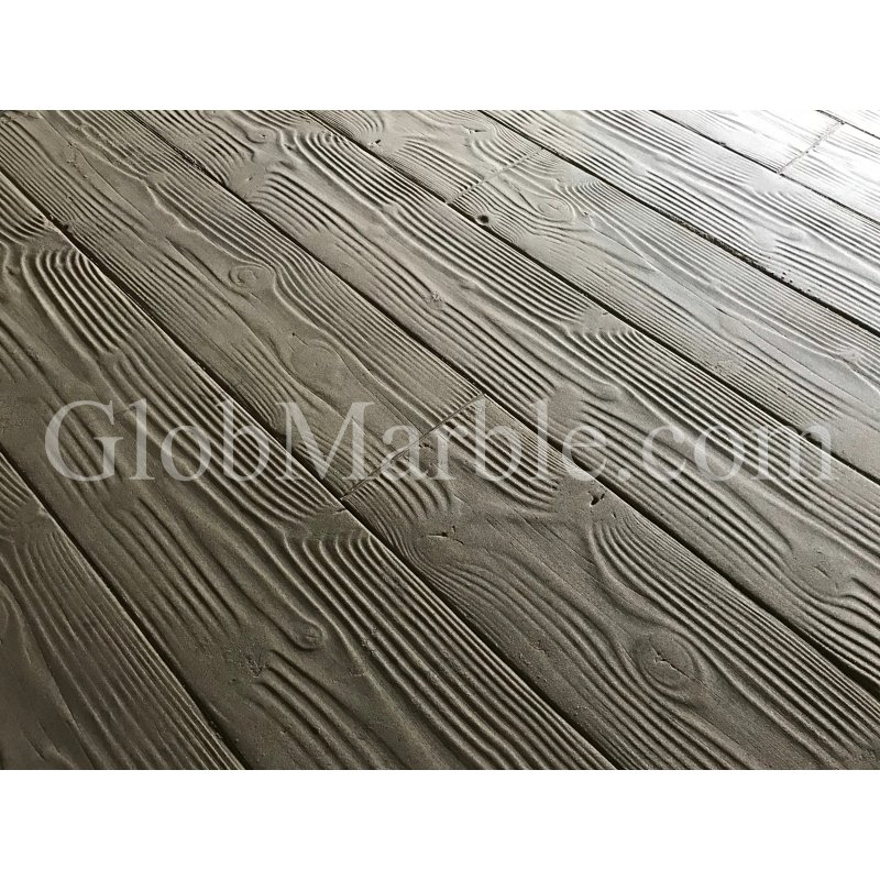 "Wood Plank Stamped Concrete Mats 9"" SM 5000"