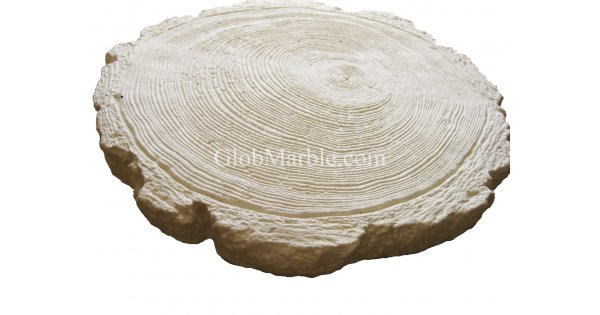 Concrete Stepping Stone Mold Log Ws 5901