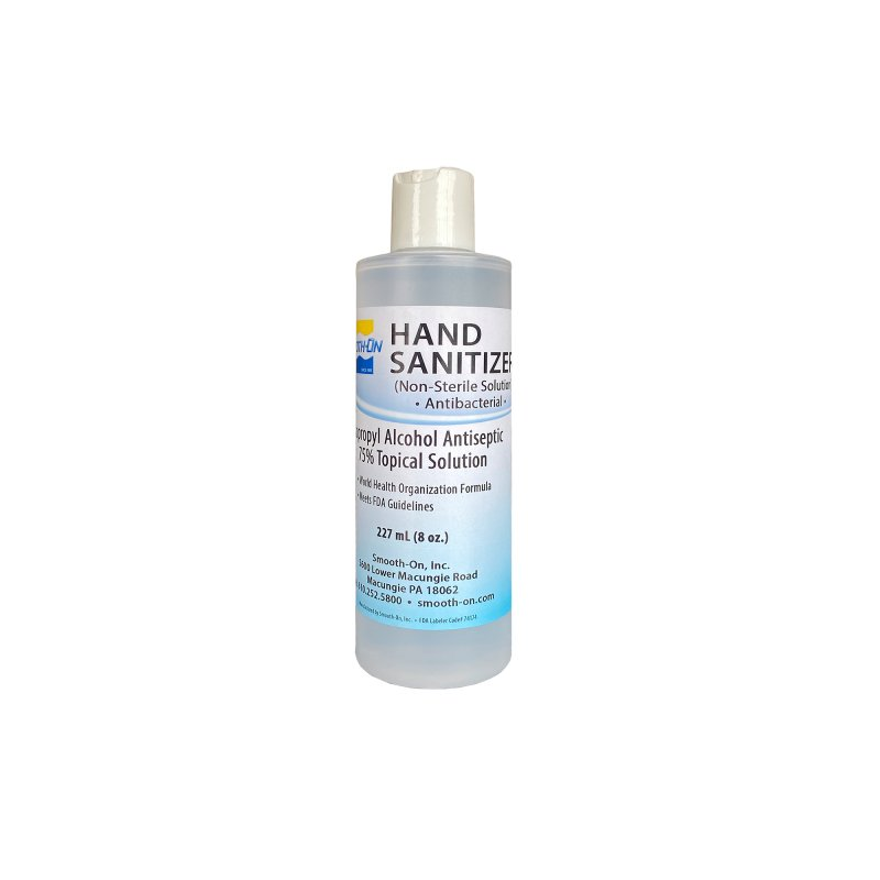 Hand Sanitizer, 8 Oz Antibacterial Non-Sterile Solution