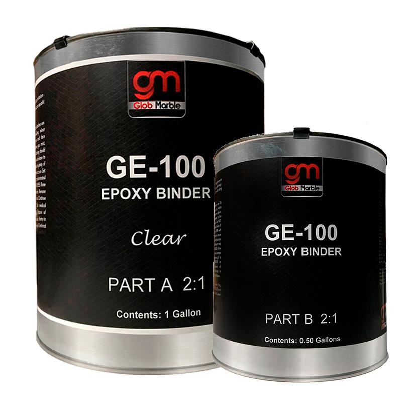 Epoxy Floor Coating GE-100 Clear. 100% Solids