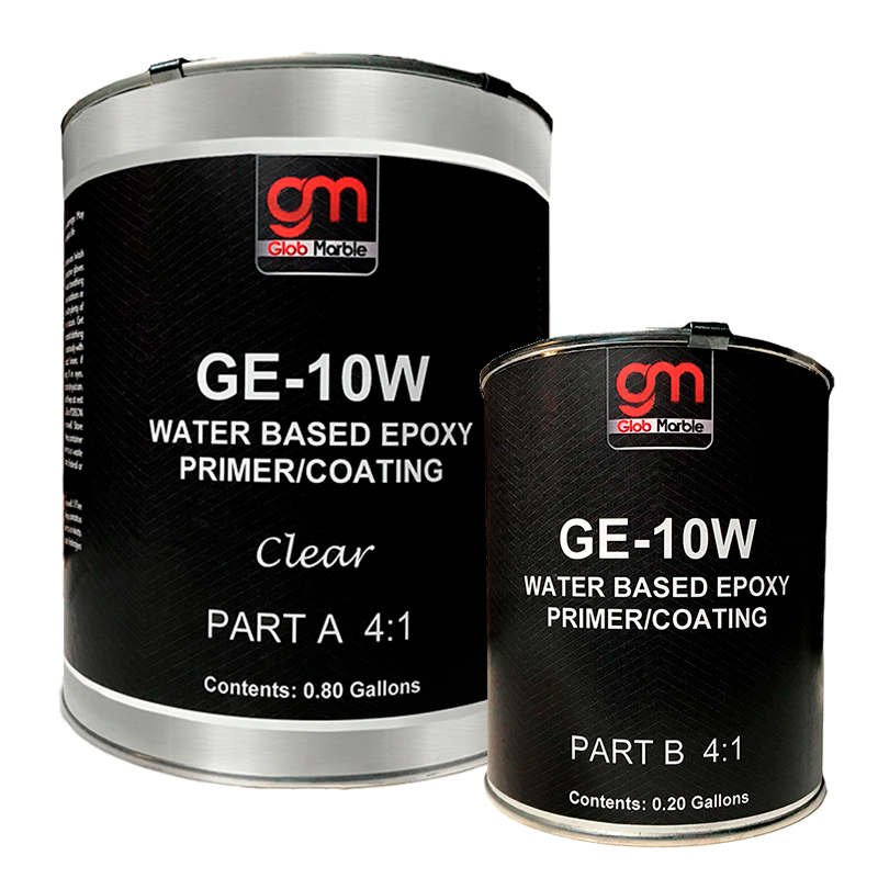 Water Based Epoxy GE-10W. Clear. 1 Gal