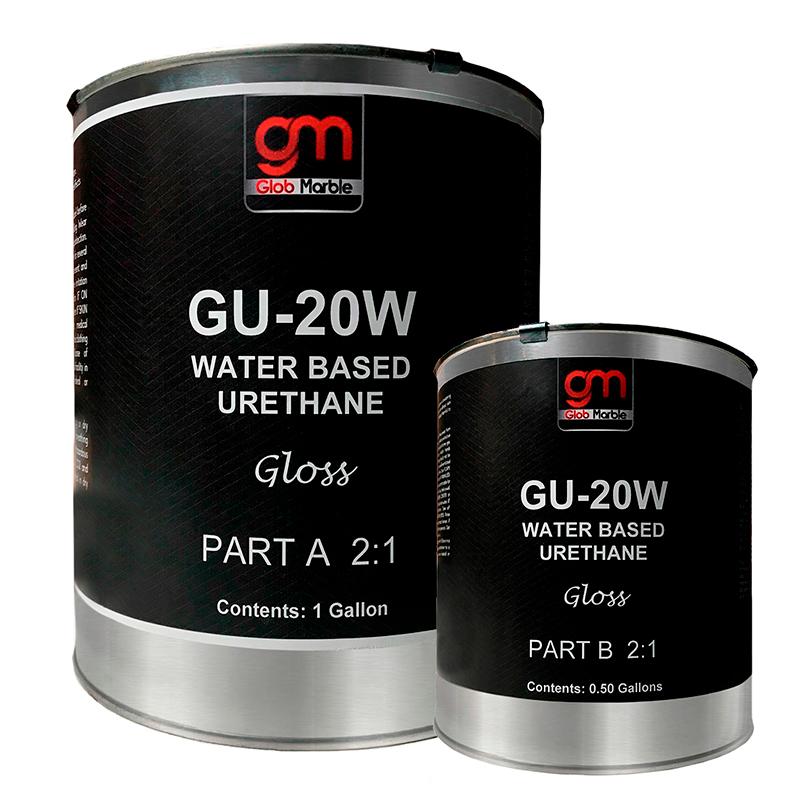 High Performance (Water Based) Polyurethane GU-20W. 1.5 Gal, 3 Gal, 15 Gal