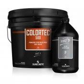 Pigmented Epoxy Floor Coating Black 100% Solids. ColorTec 500