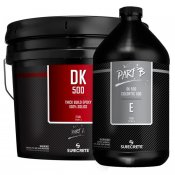 Epoxy Floor Coating 3 Gal Kit Clear. 100% Solids. DK500.
