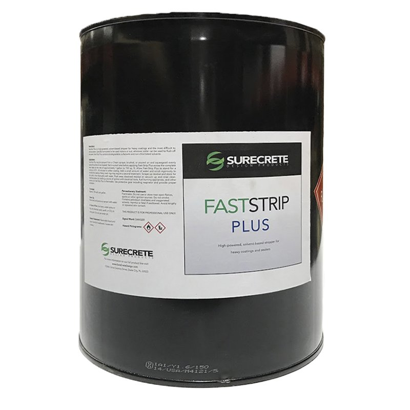 Fast Strip Plus - Solvent Based Concrete Sealer Remover and Coating Stripper