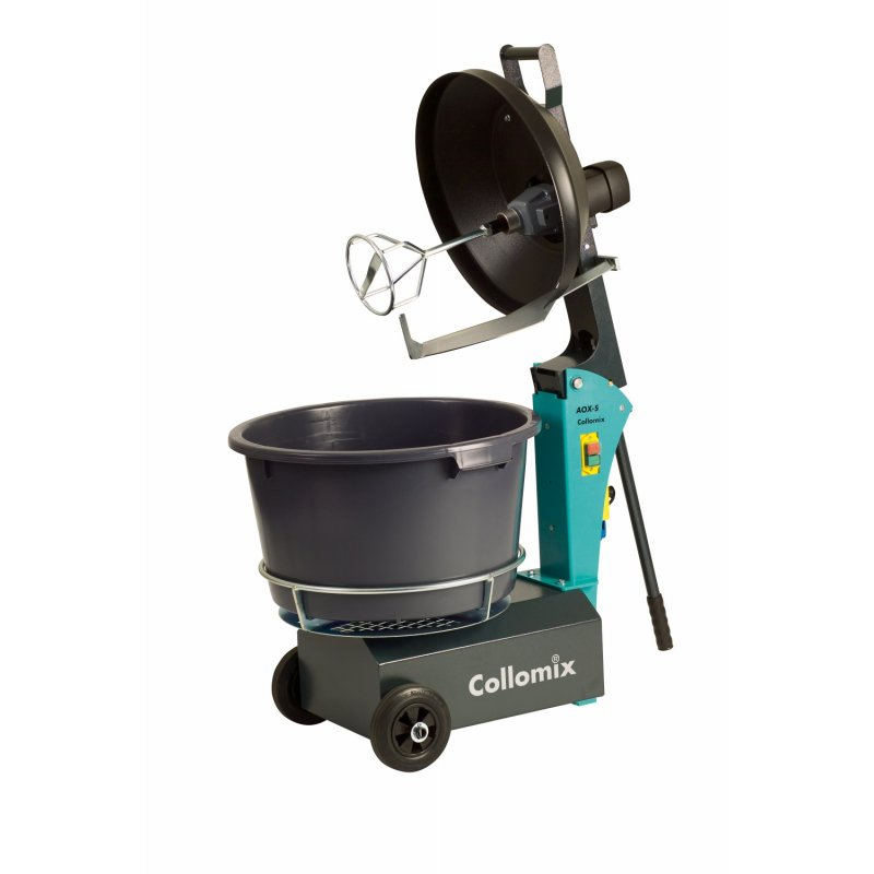 Collomix AOX-S rotating bucket mixer