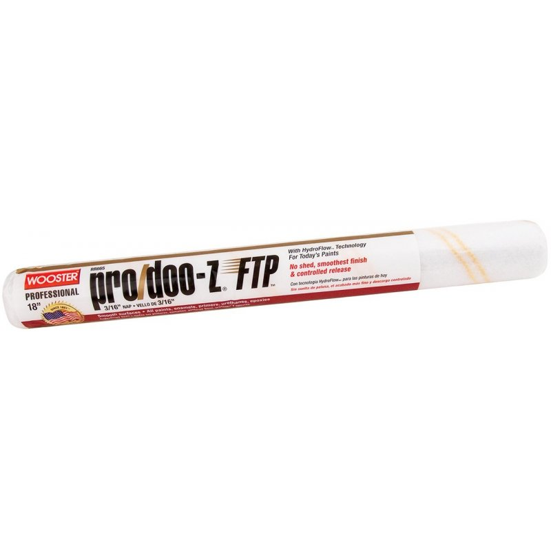 "Wooster RR666 Pro/Doo-Z FTP 3/8"" Nap Roller Cover"