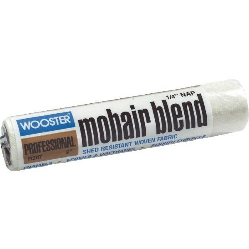 "Wooster R207 Mohair Blend 1/4"" Nap Roller Cover"