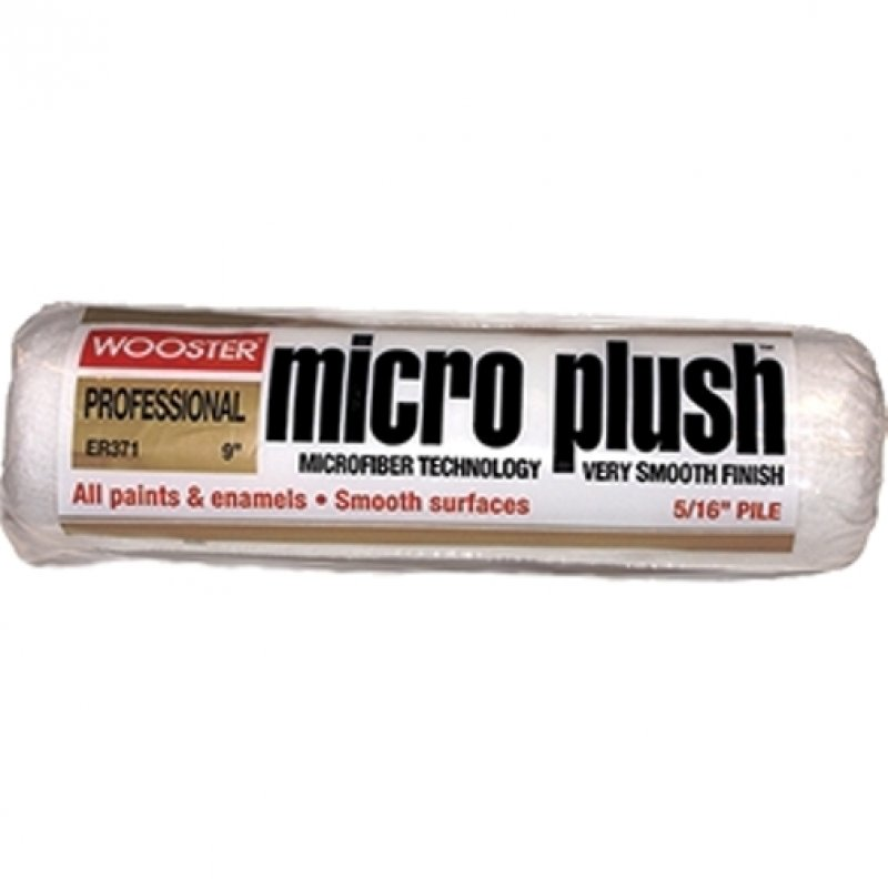 """Wooster R235 Micro Plush 5/16"""" Nap Roller Cover"""