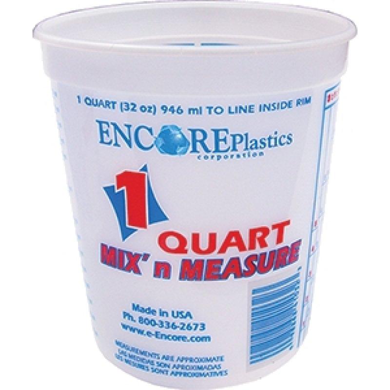 Encore 1 qt Mix and Measure Plus Ratios Container