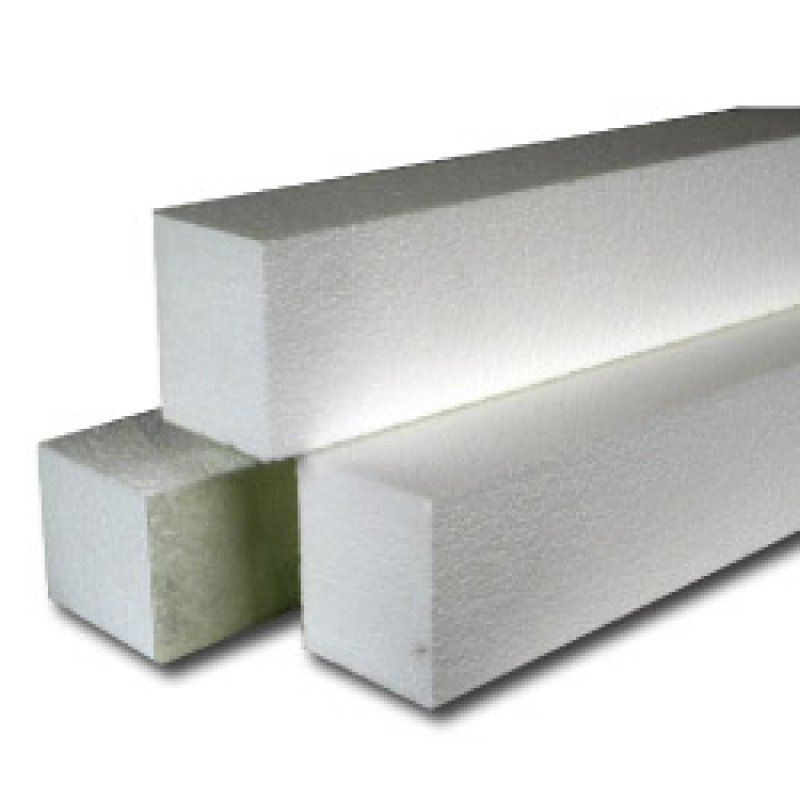 High density precast concrete form rails for Foam concrete forms
