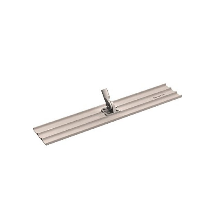 Square End Magnesium Bull Float with Threaded Bracket